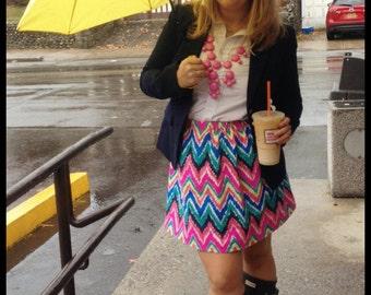 Lilly Pulitzer Hearts A Flutter Handmade Skirt