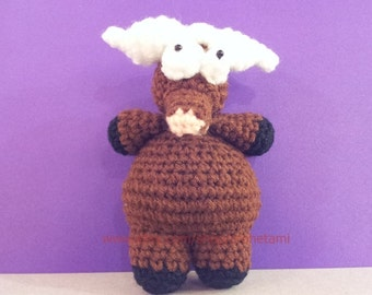 Buffalo 4inches - PDF amigurumi crochet pattern