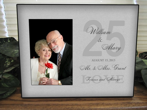 Unique 25th Wedding Anniversary Gifts: Personalized Anniversary Gift 25TH Anniversary 50TH