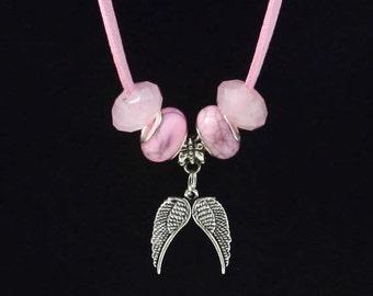 Angel Wings of Peace Necklace  N003