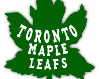 """Toronto Maple Leafs NHL Hockey sticker decal 4"""" x 4"""""""