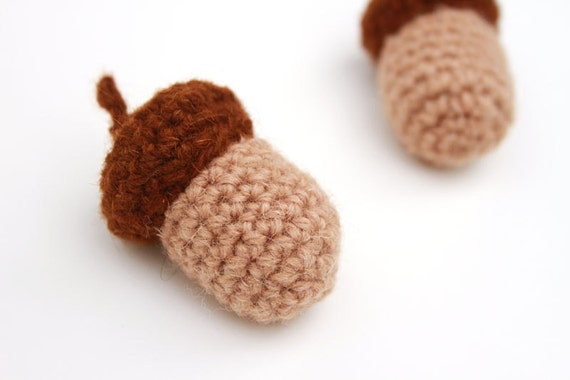 Amigurumi Acorn Crochet Pattern from StudioSunshine on ...