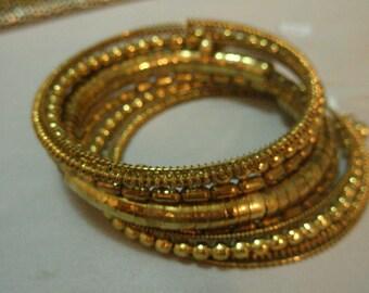 multi rows bracelet- spiral chaos