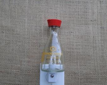 Kikkoman Soy Sauce 5oz. Glass Bottle Night Light