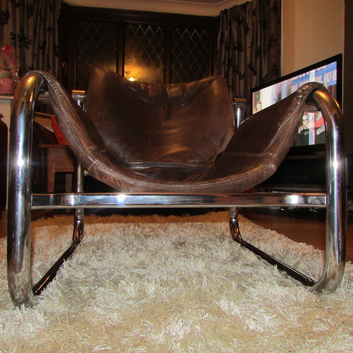 A Rare Brazilian ALPHA Lounge Chair by MAURICE BURKE for