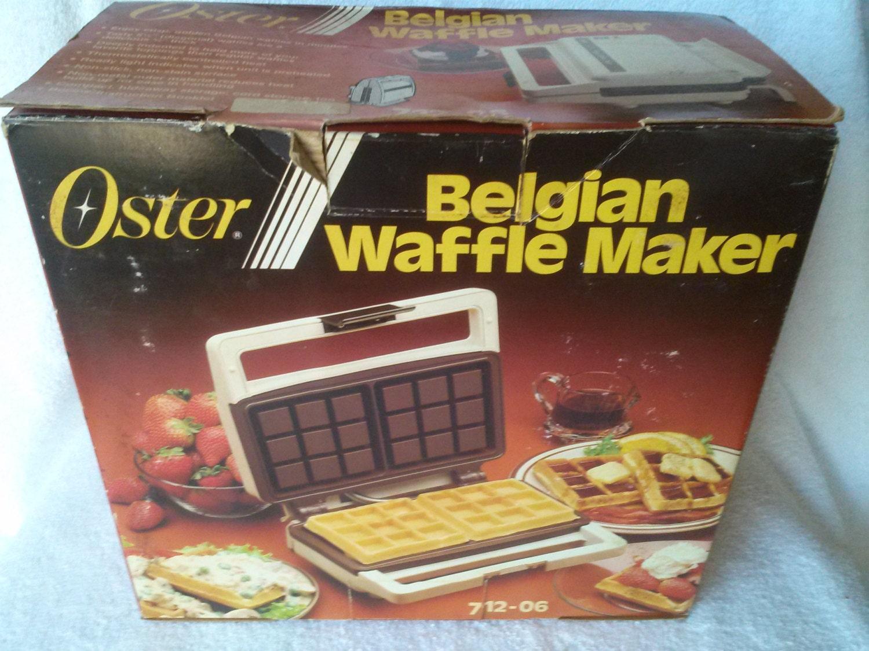 oster flip belgian waffle maker instructions