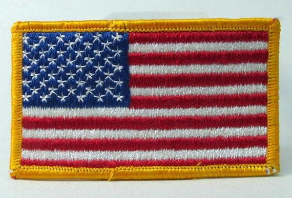Wearing US Flag Insignia Correctly! - YouTube