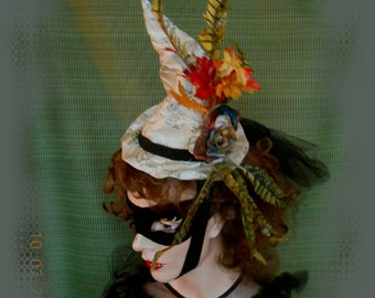 Steampunk Mini Witch's Hat