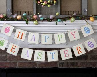 Happy Easter Banner Spring Banner