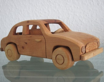 Syrena FSO poland east german wood car model car very rare handmade