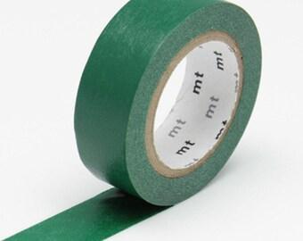 MT Washi Tape - Peacock [Dark Green] MT Masking Tape - *NEW colour*
