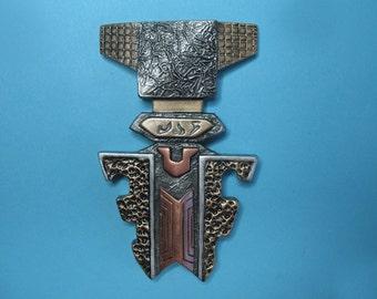 Star Trek Klingon MEDAL of HONOR Resin Prop Pin