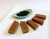 Earl Grey Tea Caramel, 1 lb Homemade Caramels individually wrapped with gift packaging