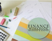 Finance Workbook Pack - NEW! - PDF printable [instant download]