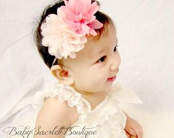 Lovely Chiffon Flower Baby Headband,Girl Headband