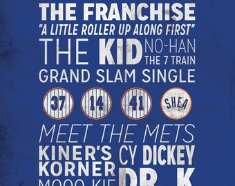 New York Mets Print