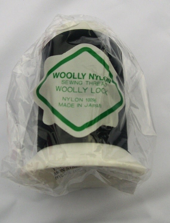 And wooly nylon sewing