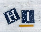 Customized name initials | nursery alphabet letters | name decor | gift for new baby