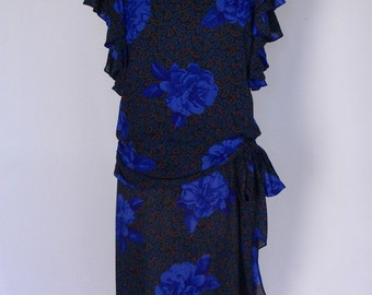 Vintage 80's Gatsby Dress Playful & Unexpected!
