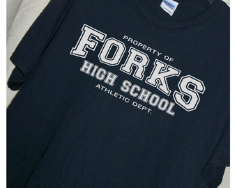 TWILIGHT Forks High School T Shirt