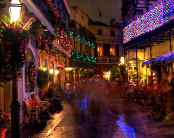 Royal Street, Orleans Square - Disneyland Fine Art Photographic Print
