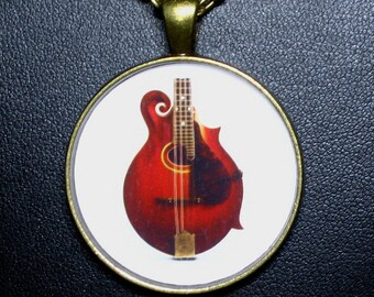 F-4 Mandolin  Necklace / Pendant