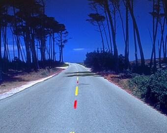 Yellow Red Dash Road, Florida 1987