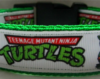 Teenage mutant ninja turtles dog collar