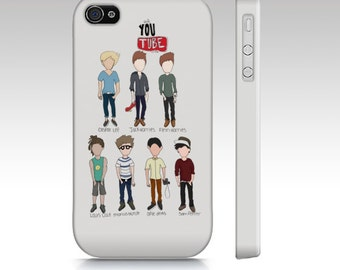 Youtube Crew Phone Cases (Samsung Galaxy and Iphone)- ORIGINAL ARTIST