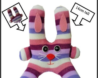 Instant Download - Sock Rabbit Instructions & Sewing Instructions