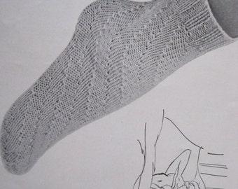 Knit Pattern - Anklet Socks