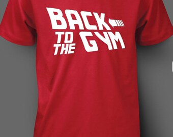 New Back To The Gym Red T Shirt All size XS-3XL