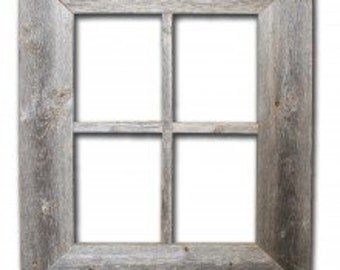 Barnwood Rustic Window Frame (not for pictures)