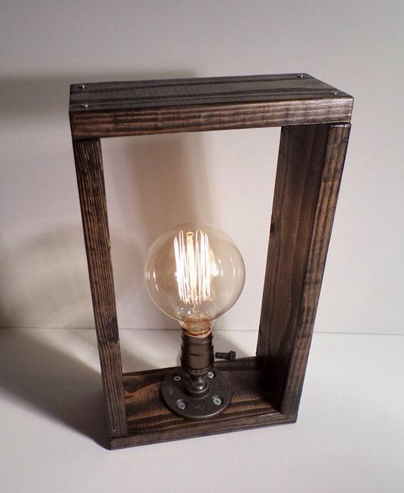Industrial Lighting Lighting Rustic Light Steampunk: Industrial Box Lighting Steampunk Lamp By UrbanIndustrialCraft
