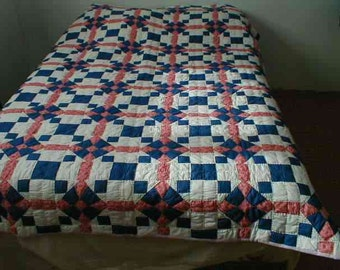 Motor trip patchwork quilt