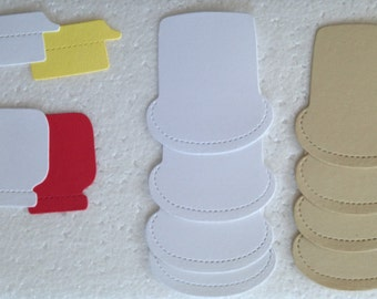 Sizzix Large Bread, Butter and Jam DIe Cuts