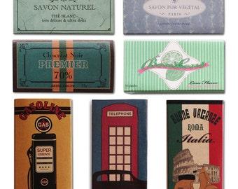 Paper mini   boxes-match box-storage-stationery-vantage-savon box-chocolat -bonbon box-wrapping box