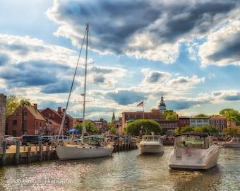 Annapolis Harbor.