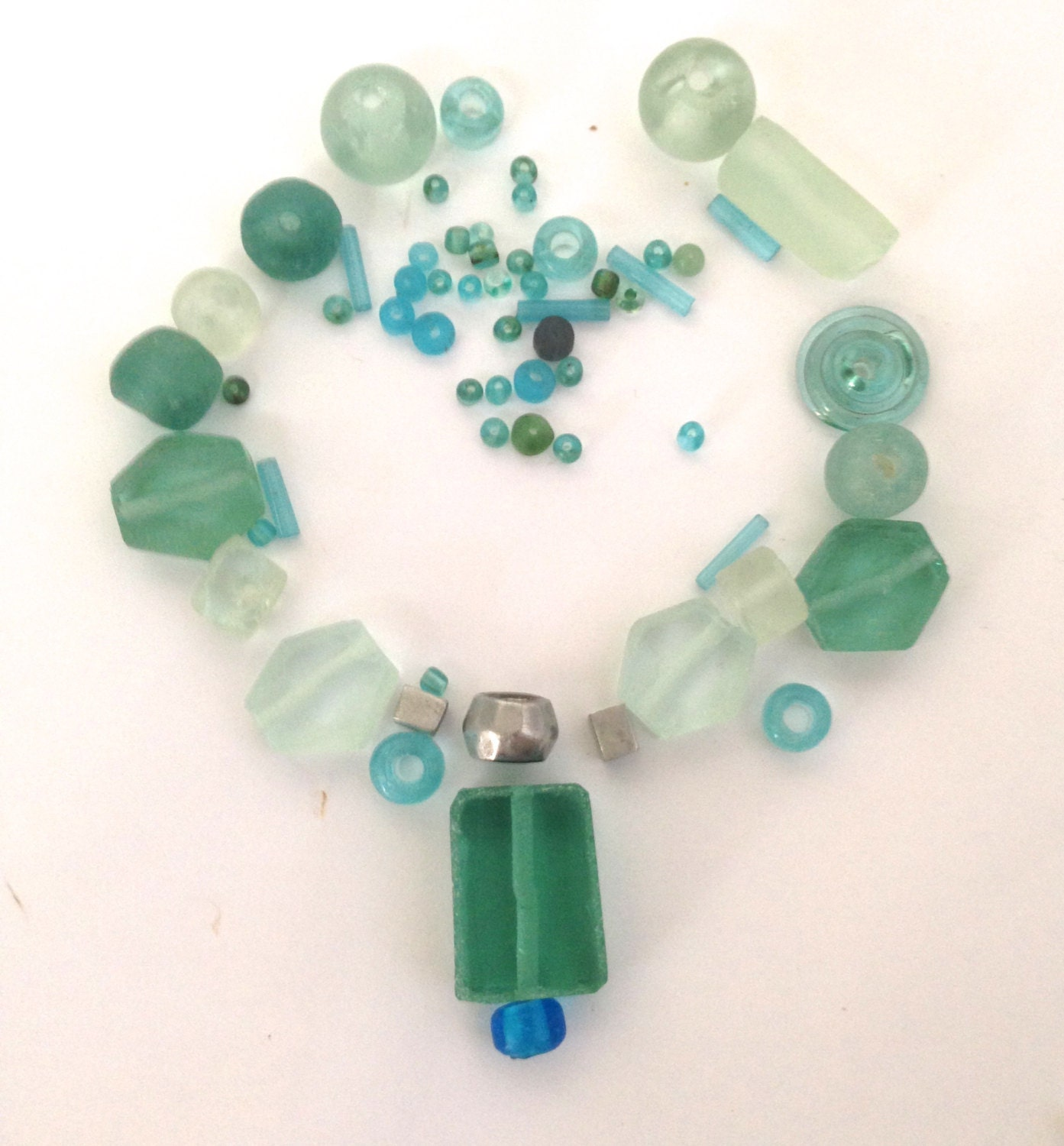 bead assortment collections handmade recycled glass by