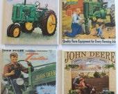 Vintage John Deere Beverage Coasters