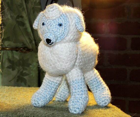 Amigurumi Sheep Doll : sheep crochet stuffed animal toy doll amigurumi by ...