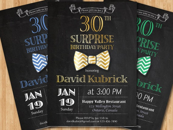 mens birthday invitations anuvratinfo – Male 30th Birthday Invitations