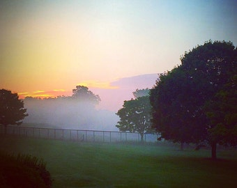 Nemacolin Sunrise PA, 16x20