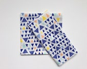 Set of 4 Napkins ref. Triangles