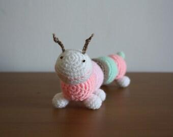 Crochet Caterpillar Soft Toy