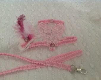 Wedding  Harness & Leash