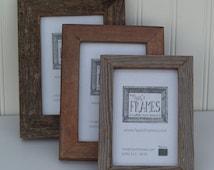 4x6 Reclaimed Barn Board Frame - Single Style