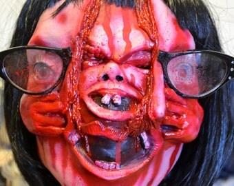 Brain Dead/Dead Alive Prop Latex Mask *RARE*