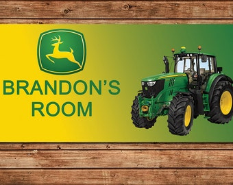 Popular Items For John Deere Decor On Etsy