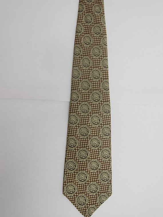 Cool Early 1970s Art Deco Tie